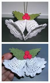 crochet christmas free crochet bell ornament pattern free christmas bell ornament