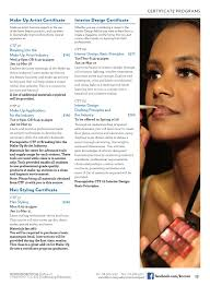 makeup artistry certification program continuing education winter 2016 by kingsborough office of