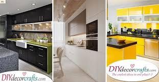 modern kitchen cabinet designs 2019 modern kitchen cabinet ideas archives diy deco crafts