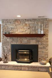 stone fireplace surrounds for wood burners outdoor burning mantle