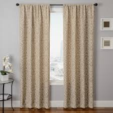 inexpensive natural weave faux linen drapery panels marshalls cool
