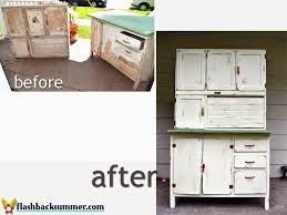 furniture charming hoosier cabinet in green with brown handle for flashback summer a hoosier cabinet makeover for home furniture ideas