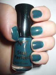 nail of the day totally teal u2013 chyaz