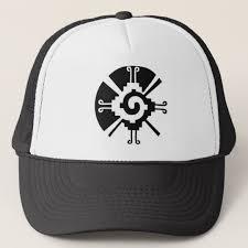 hunab ku aka mayan galactic butterfly trucker hat zazzle com