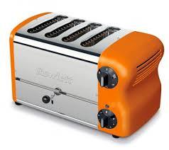 Dualit Orange Toaster Rowlett Rutland Esprit 4 Slice Orange Toaster Kitchen