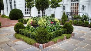 Planting Ideas For Small Gardens Square Flower Bed Ideas Landscape Designs Pineville Front