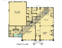 Large Farmhouse Floor Plans Home Plans Designs Inc This Features A Master Suite Walk In