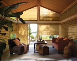 Clear Vinyl Roll Up Blinds Outdoor by Blinds Naples Fl