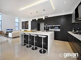 modern island kitchen kitchen design ideas white bench gray floor and kitchen photos