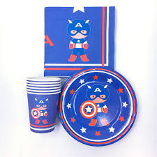 online get cheap captain america plate aliexpress com alibaba group