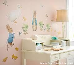 beatrix potter rabbit nursery wall decal beautfiul rabbit wall decals rabbit decal