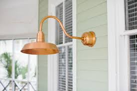 Barn Electric Light Fixtures New Brass Copper Lighting From Barn Light Electric