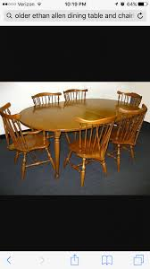 Hi Yesterday I Purchased An Old Ethan Allen Dropleaf Maple - Ethan allen drop leaf dining room table
