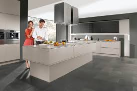 cuisines nobilia contemporary kitchen wooden island lacquered feel 807