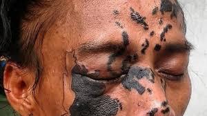 tattoo jogja murah mantap jiwa pria ini tato wajahnya dengan gambar peta indonesia