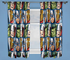 Very Co Uk Curtains Character World 72 Inch Disney Marvel Avengers Shield Curtains