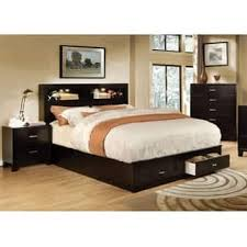 Bed With Attached Nightstands Platform Bed Bedroom Sets U0026 Collections Shop The Best Deals For