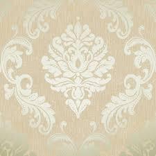 henderson interiors chelsea glitter damask wallpaper cream gold