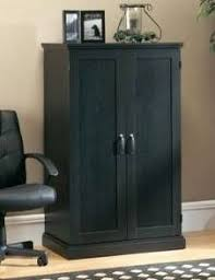 full image for sauder edge water computer armoire home closet