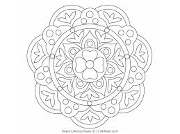 coloring pages diwali designs colouring pages colorine diwali