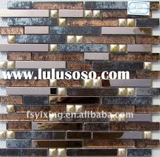 Mosaic Tile For Backsplash by Glass Tile Backsplash Mirror Tiles Self Adhesive Mosaic Mirror