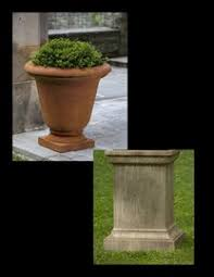 Urn Planters With Pedestal Planters With Pedestals