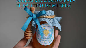 recuerdos de bautizado con frascos de gerber recuerdo de miel para bautizo youtube