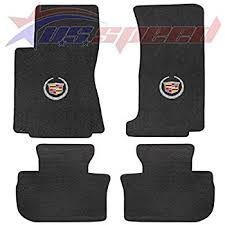 cadillac cts all weather floor mats amazon com cadillac cts rwd sedan floor mats w silver
