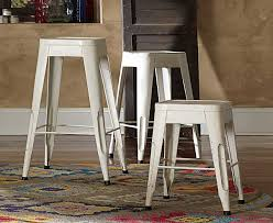 18 Inch Bar Stools Homelegance Amara 18in Metal Stools White 5035wht 18