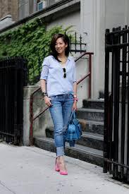 ootd a classic blue dress shirt josephina collection
