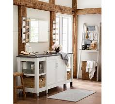 Pottery Barn Mirrors Bathroom by Kensington Pivot Wide Rectangular Mirror Pottery Barn