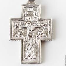 baptism accessories buy crucifix the crucifix silver cross orthodox on livemaster