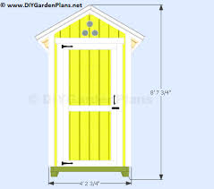Garden Tool Shed Ideas Plans For A 4 X4 Small Garden Shed
