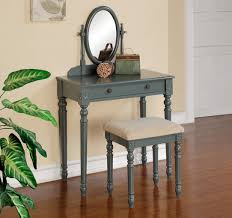 Blue Vanity Table Are Boldly Colored Makeup Tables In Ocfurniture
