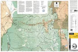 Taos New Mexico Map by Taos Wheeler Peak National Geographic Trails Illustrated Map