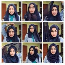 tutorial hijab turban untuk santai quick simple hijab tutorial for school ideas hijabi