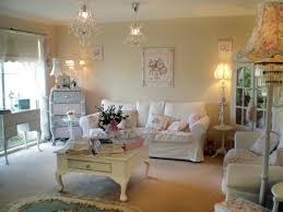 living room shabby chic living room with brown sofa mondeas