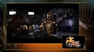 star wars episode iv holo chess set featurette youtube