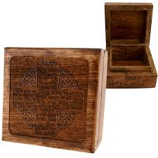 personalized keepsake boxes personalized blessing keepsake box the catholic company