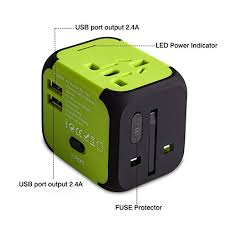 travel adapters images Travel adapter uppel dual usb all in one worldwide travel chargers jpg