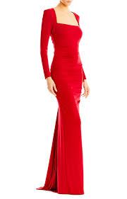 miller dresses felicity sleeve jersey gown miller