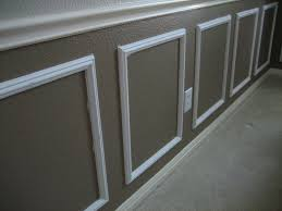 elegant picture frame wainscoting all home decorations