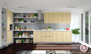 Kitchen Cabinet Textures 12 Gorgeous Grey Kitchens For Indian Homes