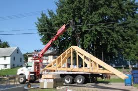lovely detached garage home plans 9 garage roof truss delivery1