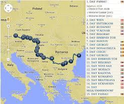 Passau Germany Map by Beautiful Blue Danube River Cruise