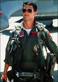 top gun jumpsuit tom taking out his f 14 tomcat as they say your ego is