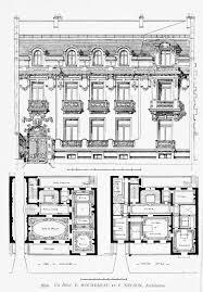 Nelson Homes Floor Plans by Design For A Hôtel Particulier Paris Floor Plans Castles