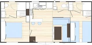 plan chambre a coucher plan chambre avec salle de bain mobile home 2 ch 2 sdb c t montagne