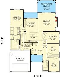 craftsman homes floor plans craftsman home with flex room 69538am architectural designs