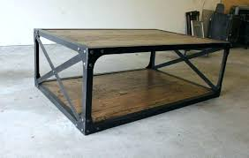 Rustic Industrial Coffee Table Rustic Industrial Coffee Table Rankhero Co